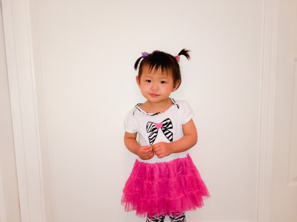 Roxy in Hello Kitty outfit