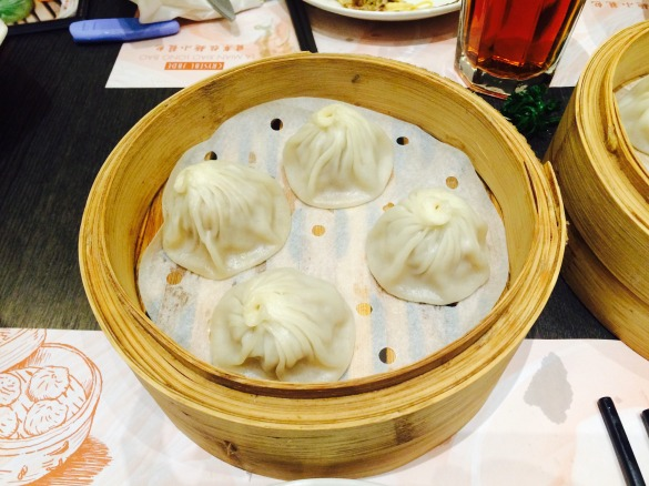 Xiao Long Bao from Crystal Jade. My fav!