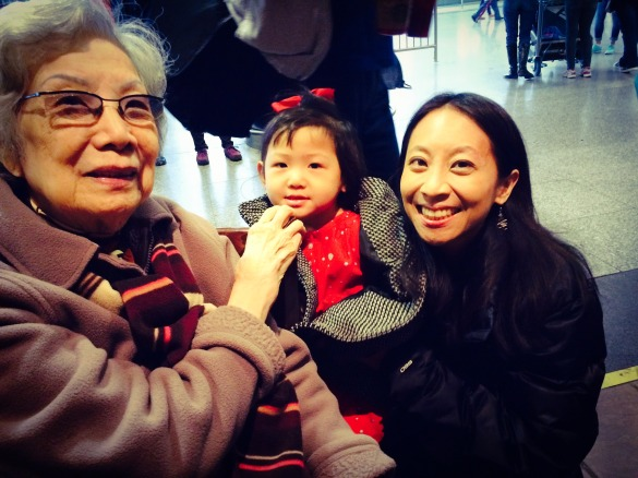 Roxy & I with Tai Po (Roxy's Great-grandmother)