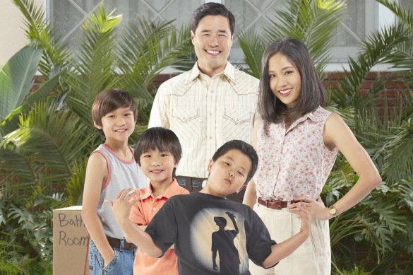 Fresh off the Boat starring Randall Park, Constance Wu, Hudson Yang, Forest Wheeler, and Ian Chen