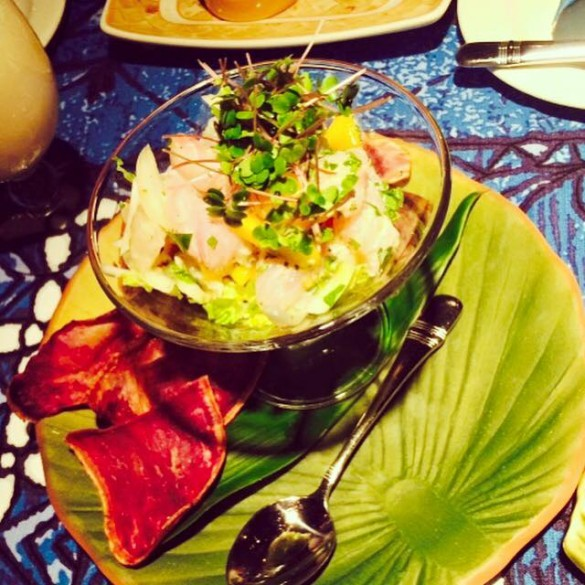 Hawaiian Ceviche from Mama's Fish House