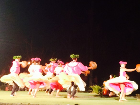 Hula dancers from the Old Lahaina Luau