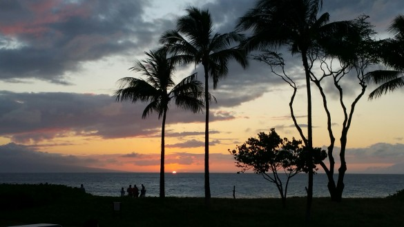 Last Sunset in Maui