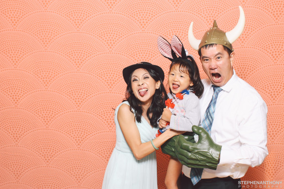 Photo booth pic from Liz & James's Wedding Credit: Stephen Anthony Photography