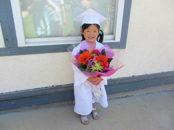 Roxy at her Merryhill Preschool Graduation