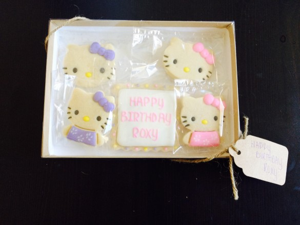 Cookie favors from Roxy's 2nd birthday party