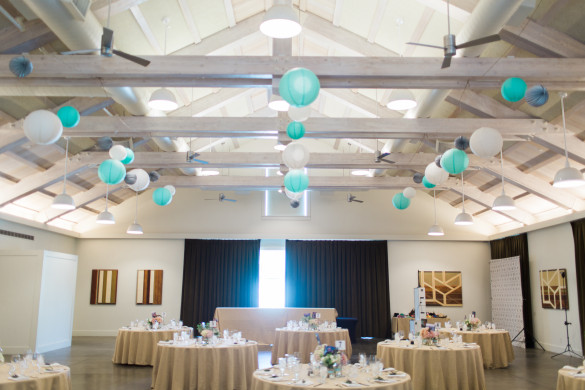 Decorations & lanterns by Daisy M Productions