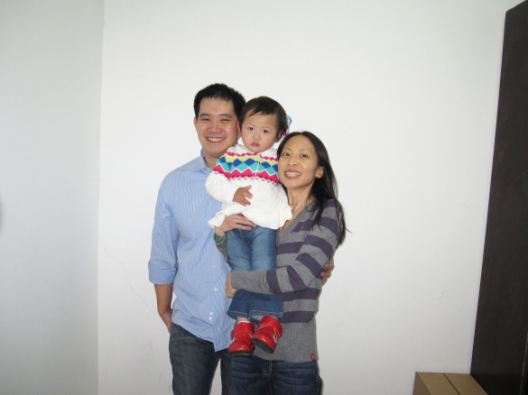 Official Family Photo at the Wuhan Civil Affairs Office