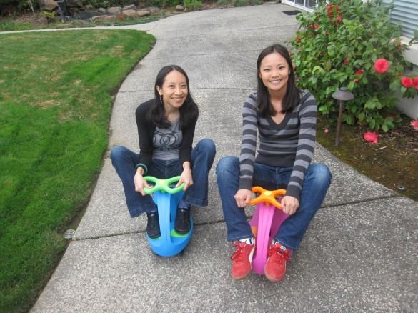 Me and my sister Allison on PlasmaCars